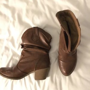Adorable Brown Ankle Boots